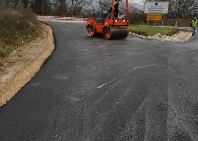 Реконструкција на општински пат с. Требош Тетово