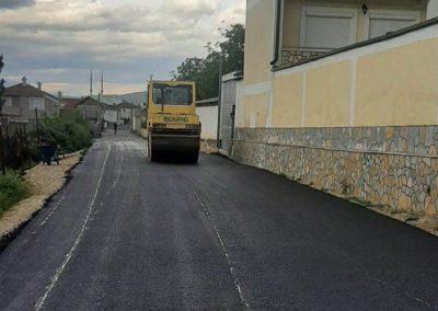 Изградба на локален пат во н.м. Форино – Општина Гостивар