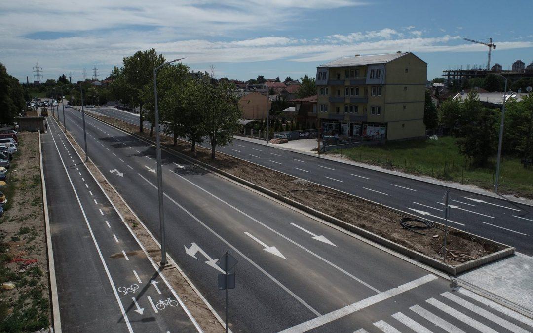 """Изградба на булевар """"Босна и Херцеговина"""" Град Скопје"""