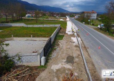 Реконструкција и асфалтирање на локалниот пат во село Одри