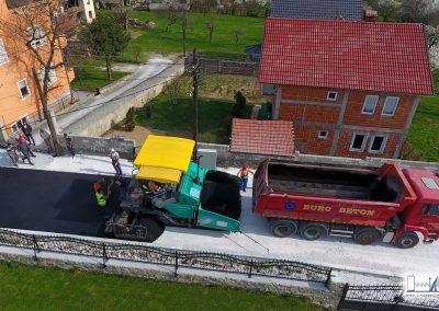 Aсфалтирање на улица во Тетово