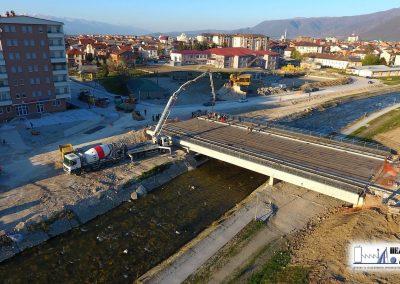 Изградба на нов мост на реката Вардар во Гостивар