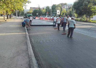 Реконструкција на улицата Васко Карангелески – Скопје
