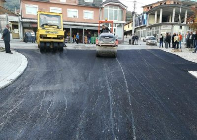 Реконструкција на улица во с. Градец – Општина Врапчиште