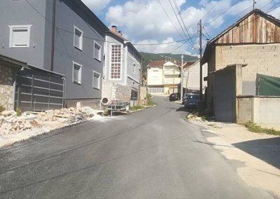 Асфалтирање на улица во с. Дебреше – Општина Гостивар