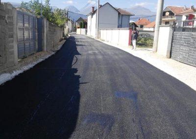 Асфaлтирање на улица во село Форино – Општина Гостивар  Copy
