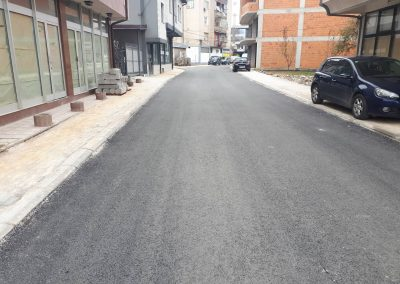 """Асфaлтирање на улица """"18 Ноември"""" – Општина Гостивар"""