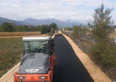 Изградба на локален пат за с. Пирок од с. Седларце