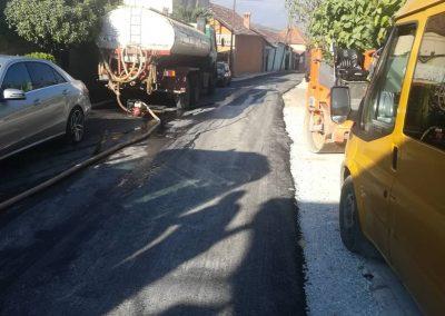 Изградба на општински пат од с. Милетино до с. Блаце.