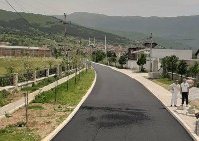 Изградба на локален пат во с. Челопек, Општина Брвеница